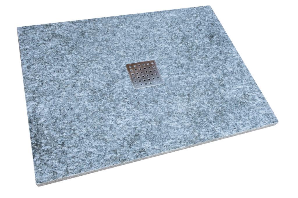 Piatto doccia in pietra di Luserna fiammata e spazzolata